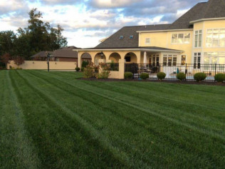 Showing off our lawn maintenance program for a local Whiteland, IN home