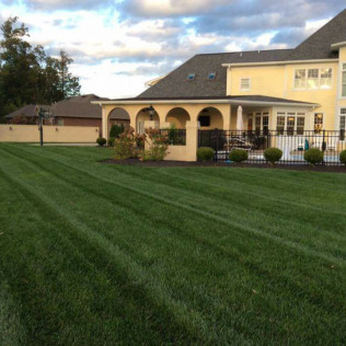 Our lawn care maintenence program in Whiteland, IN